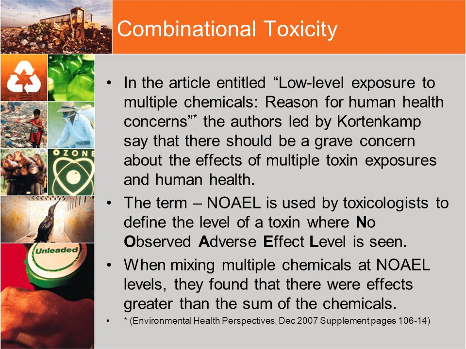 Combinational Toxicity