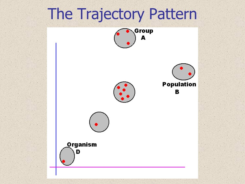 The Trajectory Pattern