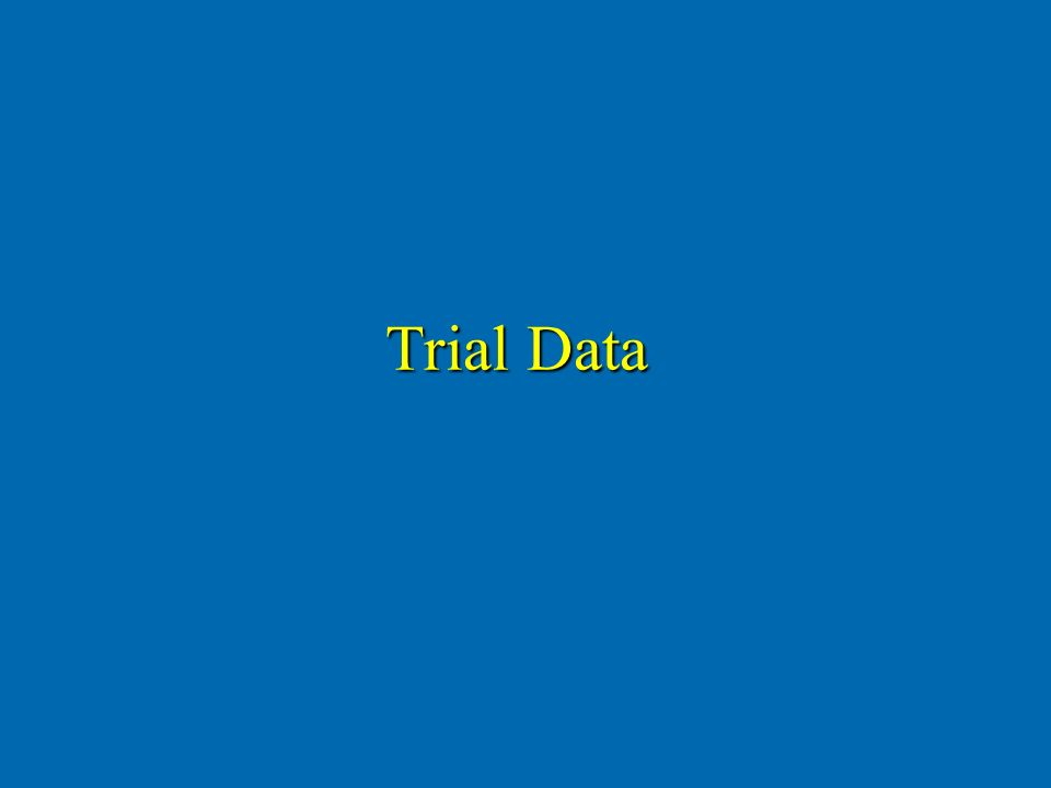 Trial Data