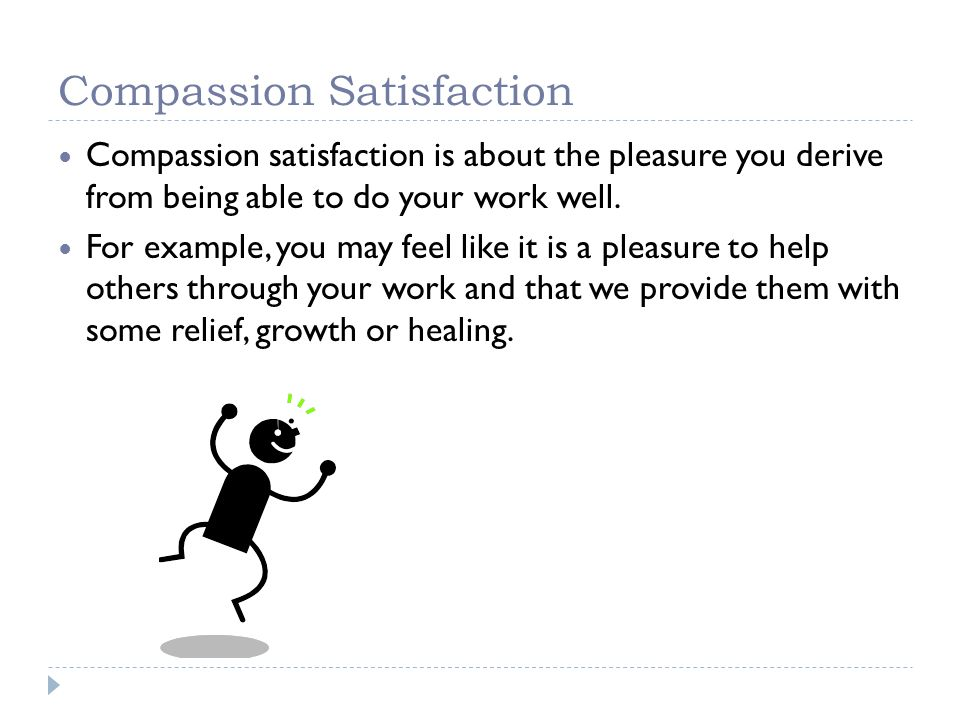 Compassion Satisfaction