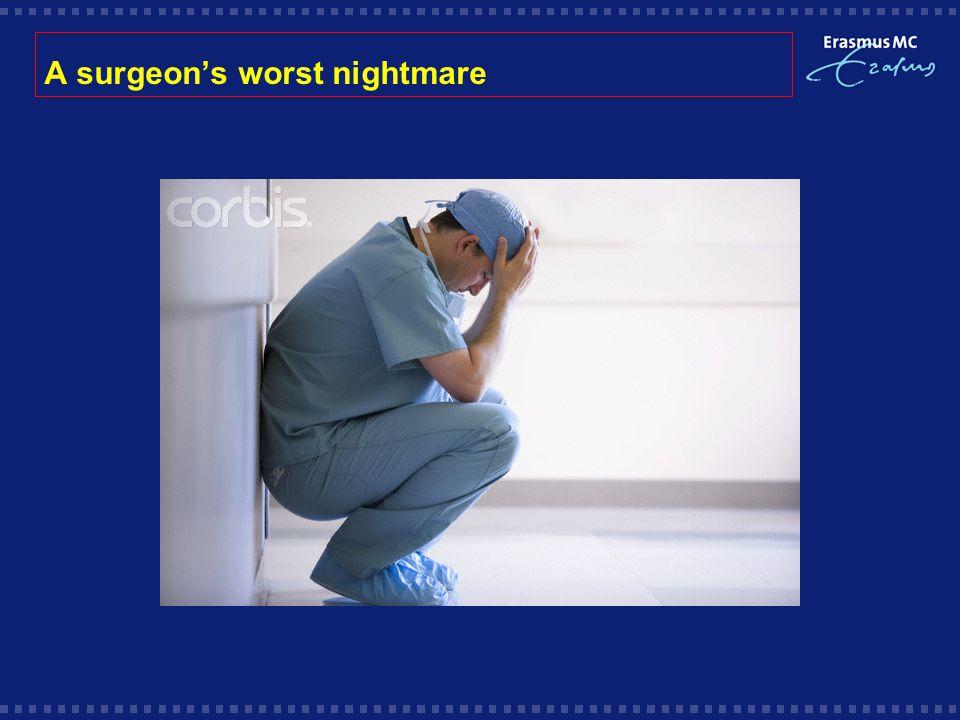 A surgeon's worst nightmare