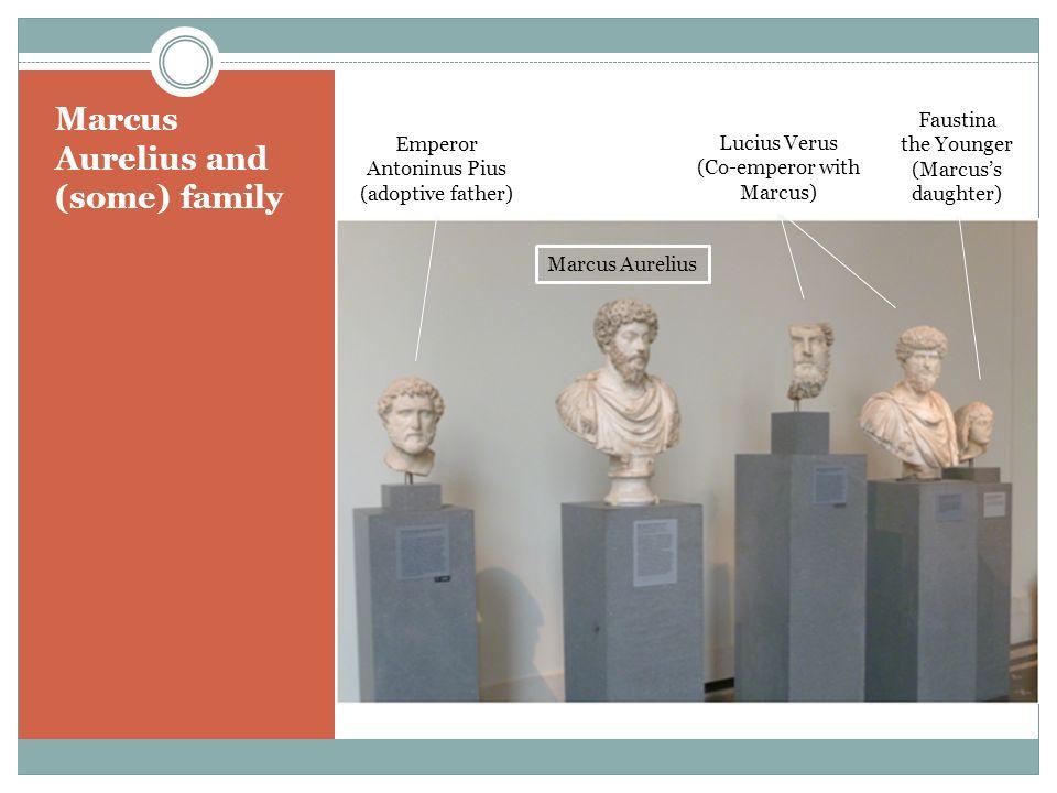 Marcus Aurelius and (some) family