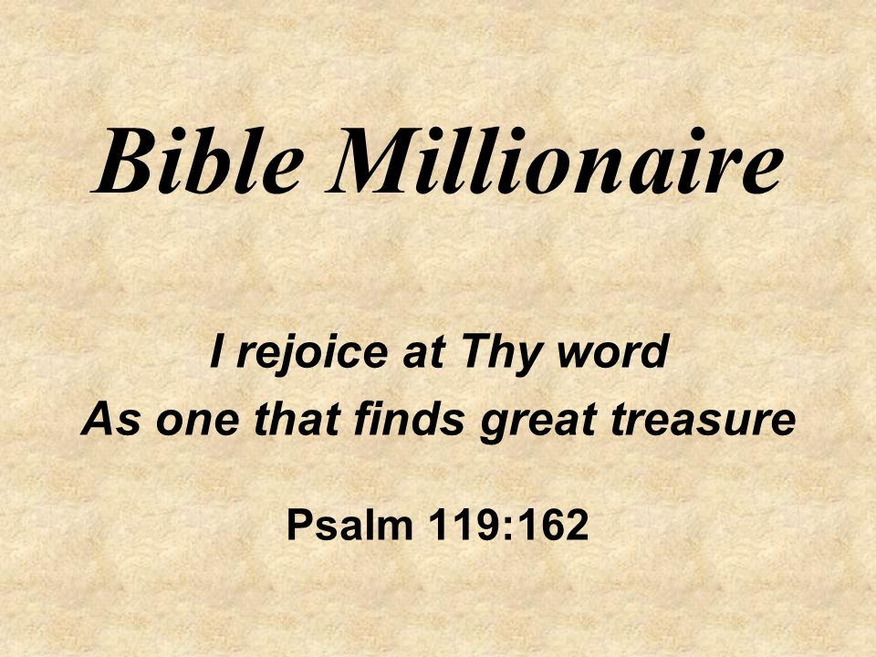 As one that finds great treasure