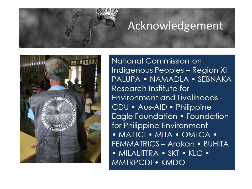 Acknowledgement Acknowledgement