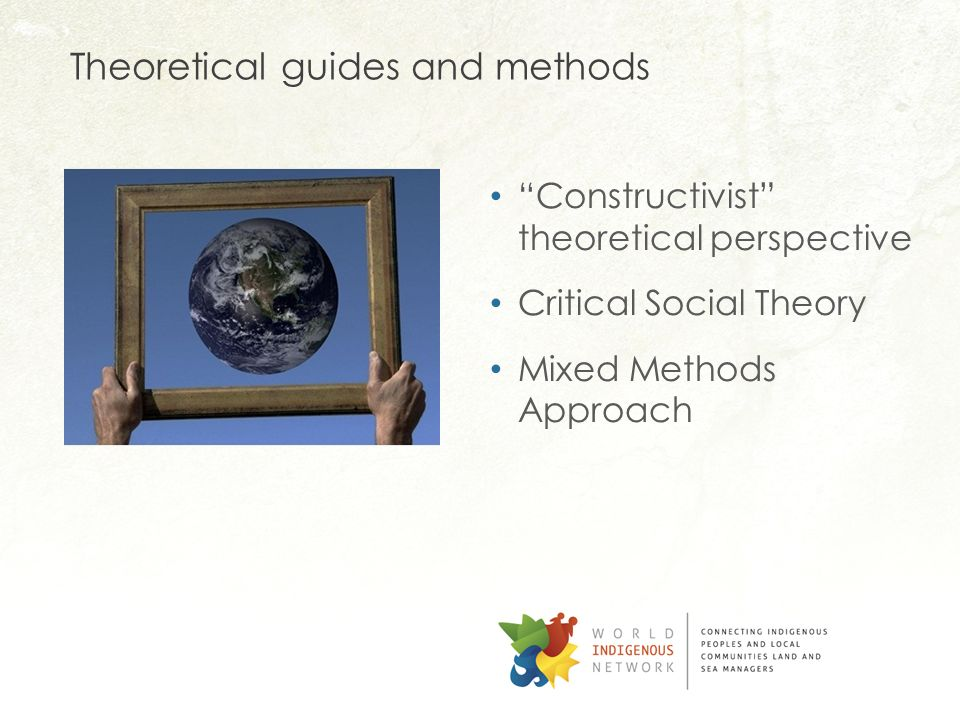 Theoretical guides and methods