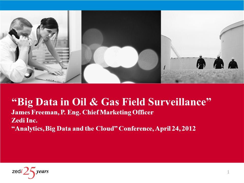 Big Data in Oil & Gas Field Surveillance James Freeman, P. Eng