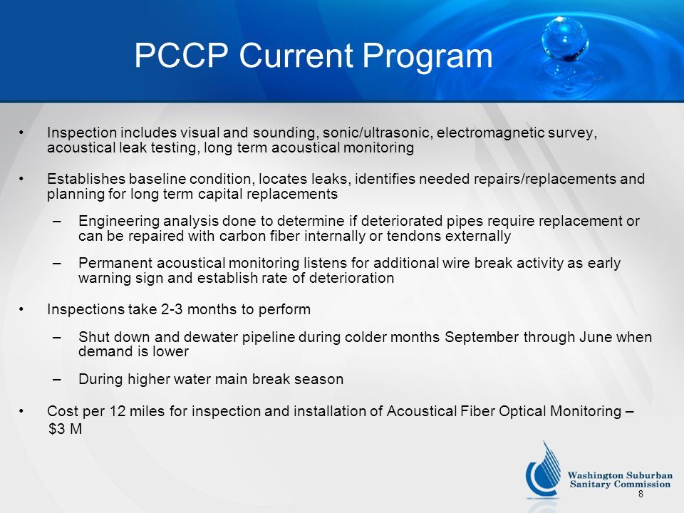 PCCP Current Program