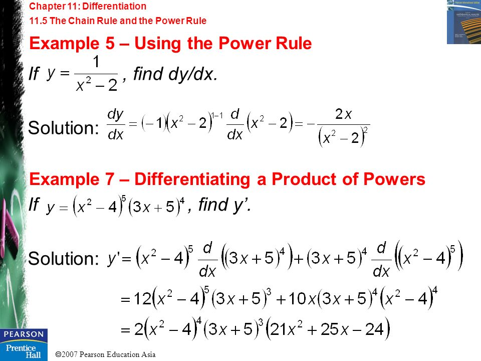 If , find dy/dx. Solution: If , find y'. Solution: