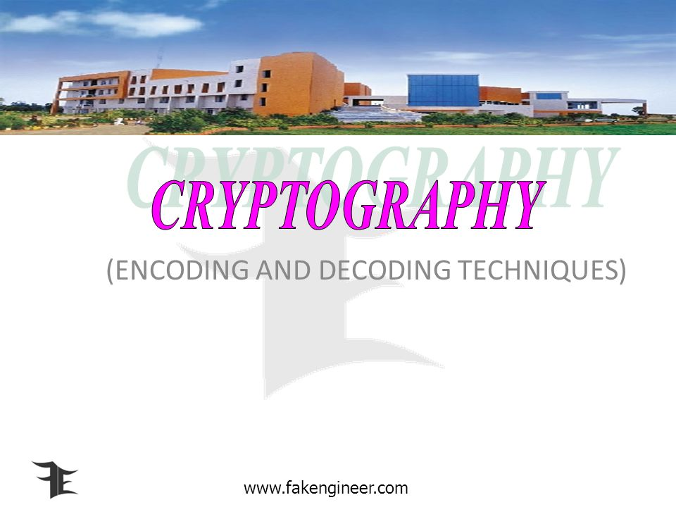(ENCODING AND DECODING TECHNIQUES)