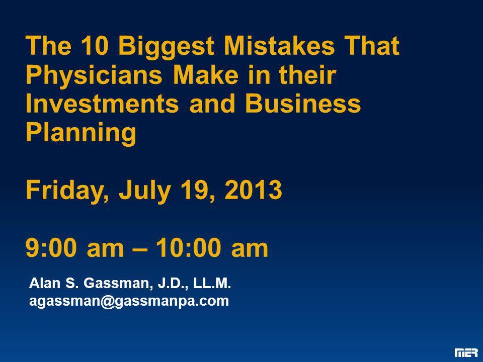 Alan S. Gassman, J.D., LL.M. agassman@gassmanpa.com