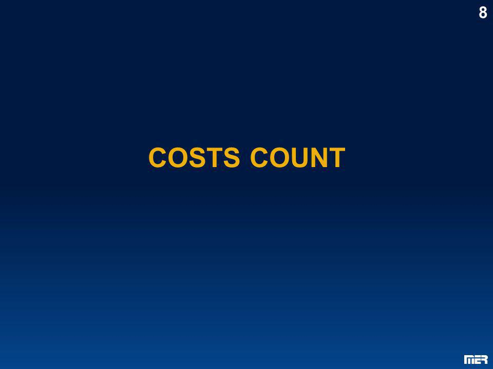 8 COSTS COUNT