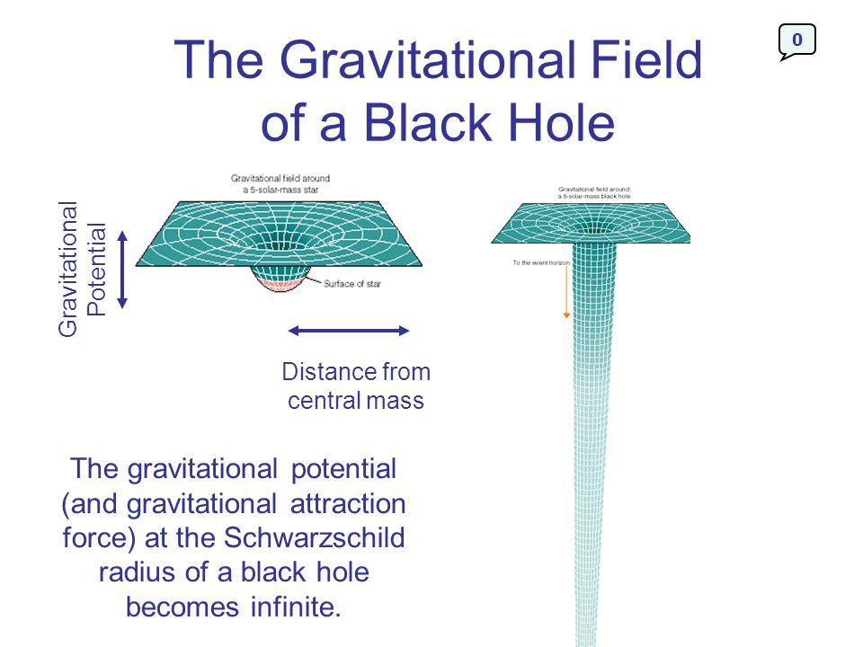 The Gravitational Field of a Black Hole