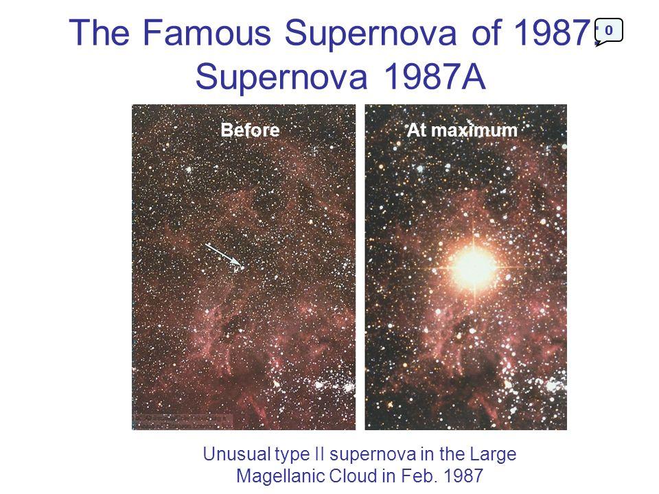 The Famous Supernova of 1987: Supernova 1987A