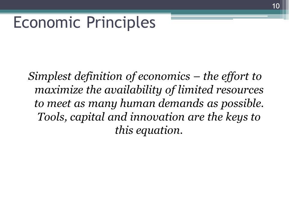 Economic Principles