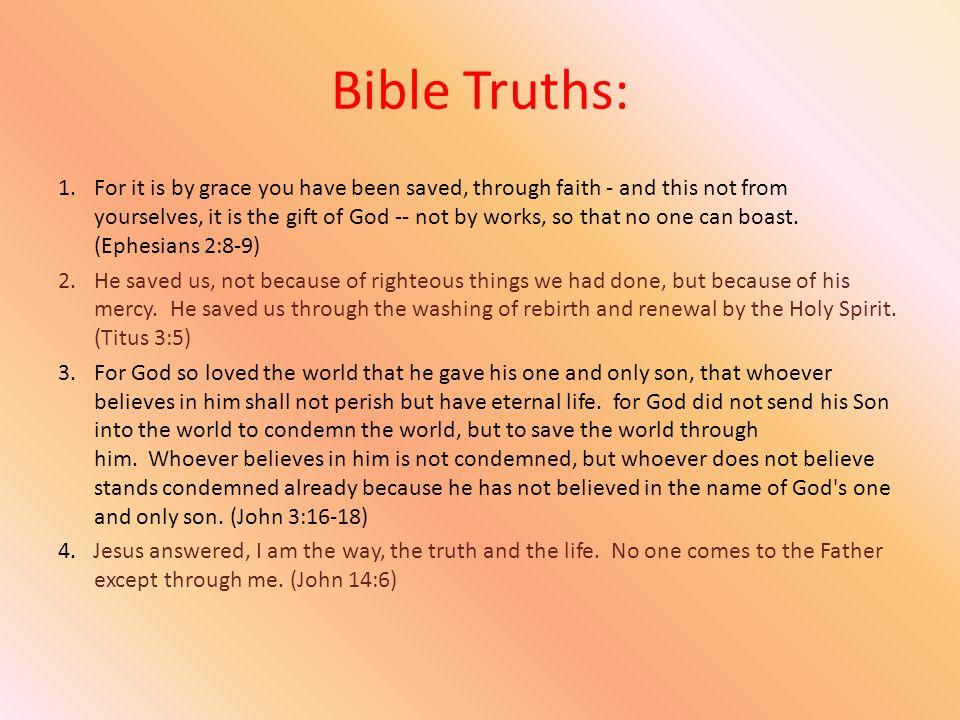 Bible Truths: