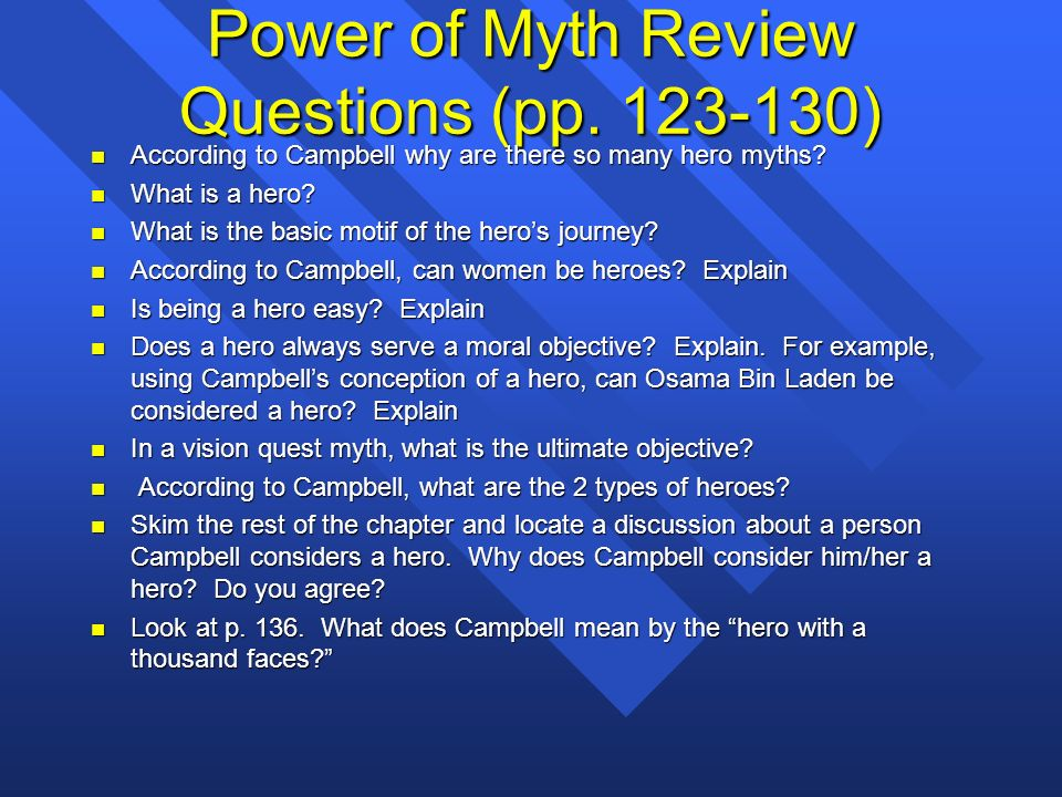 essay questions hero thousand faces Essays and criticism on joseph campbell's the hero with a thousand faces - critical essays.