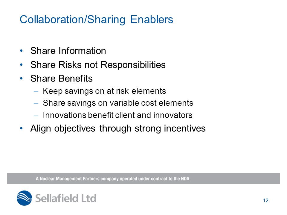 Collaboration/Sharing Enablers