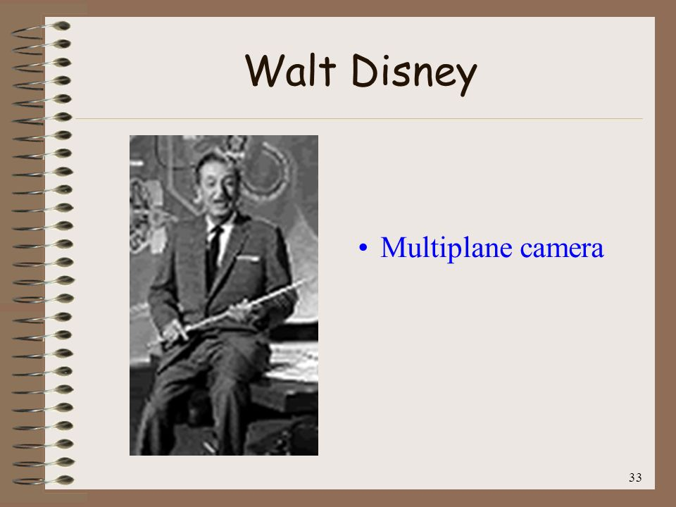 Walt Disney Multiplane camera 33