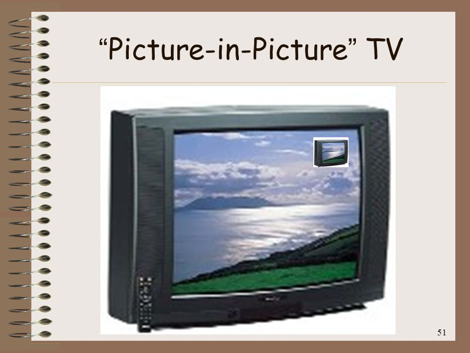 Picture-in-Picture TV