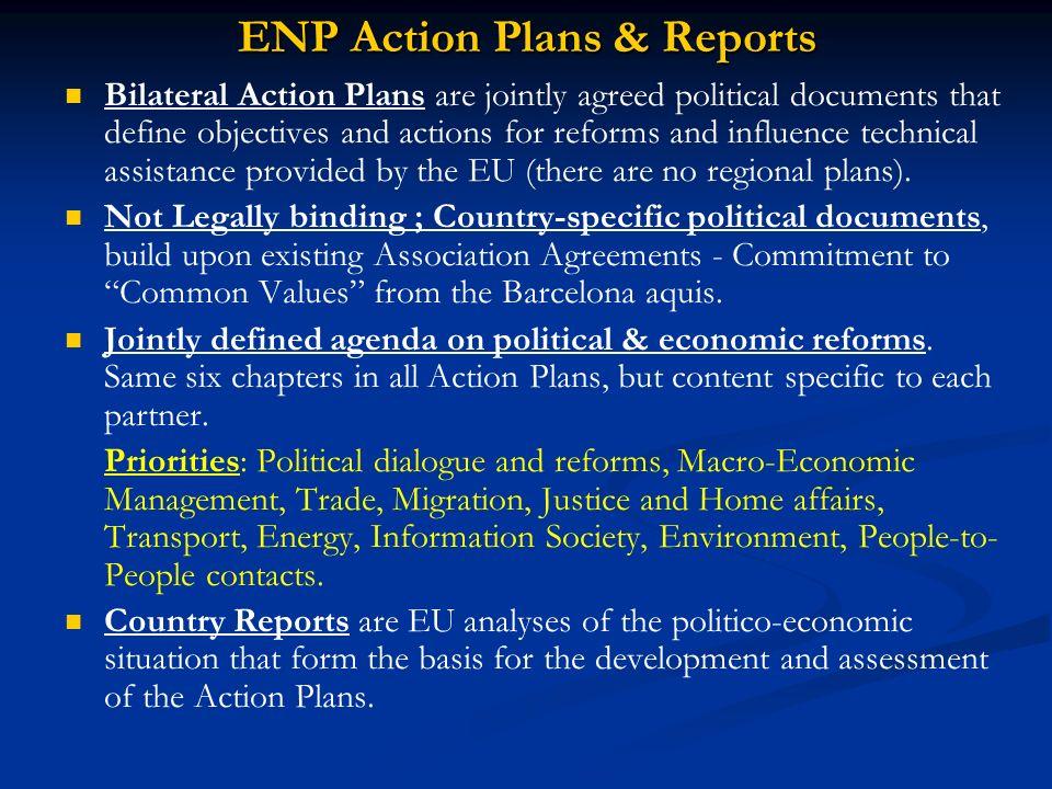 ENP Action Plans & Reports