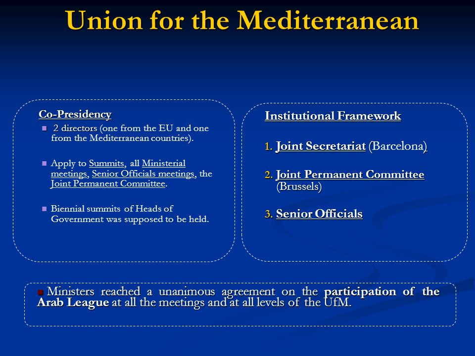 Union for the Mediterranean