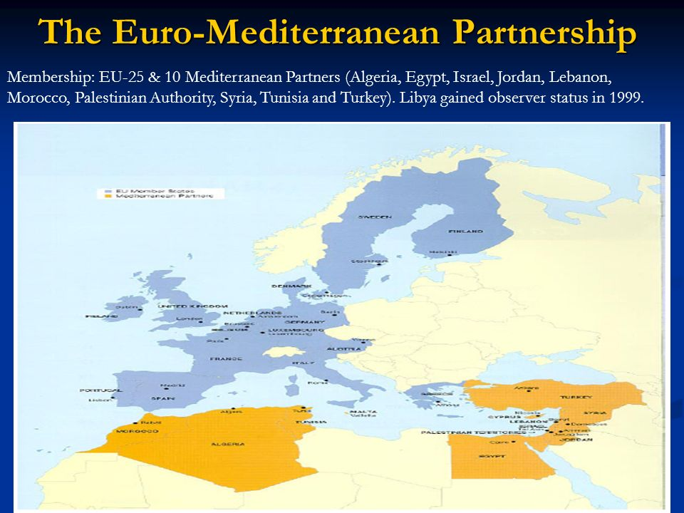 The Euro-Mediterranean Partnership