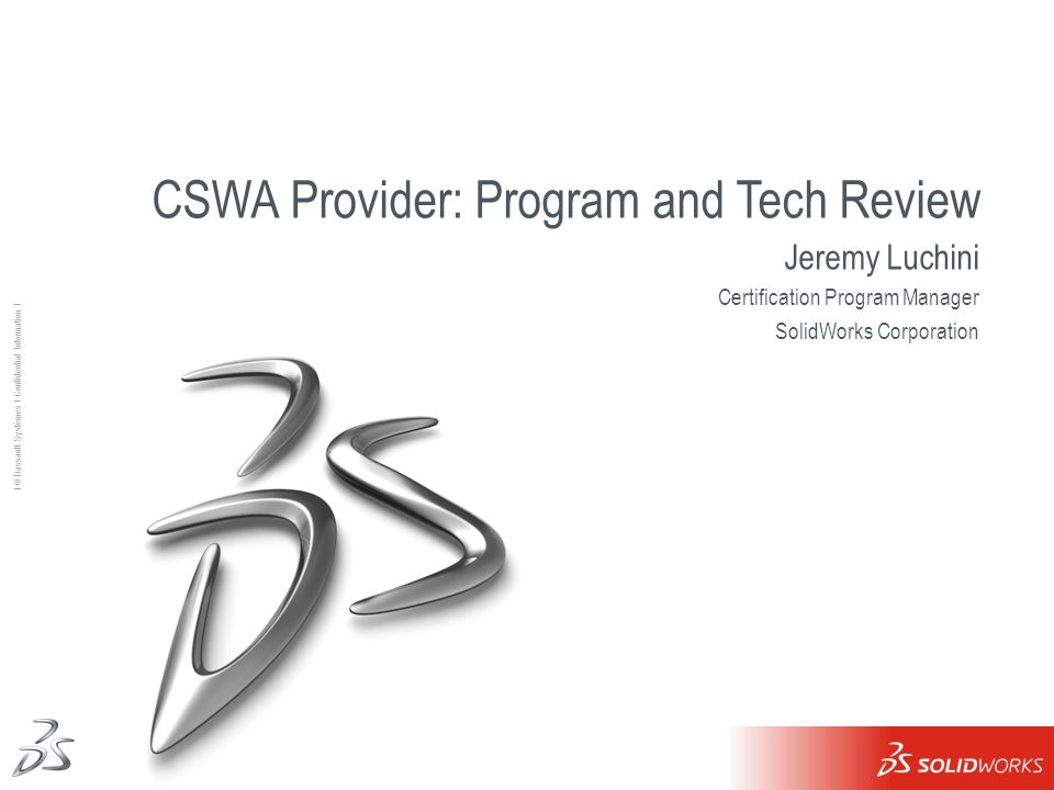CSWA Provider: Program and Tech Review