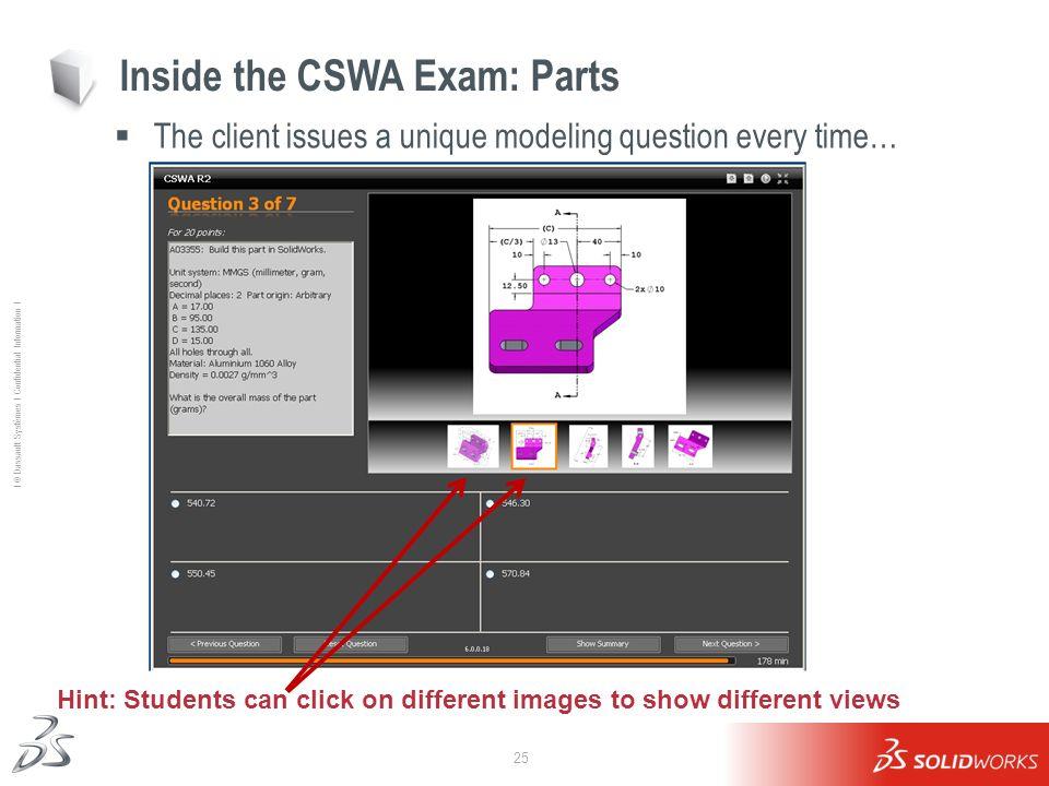 Inside the CSWA Exam: Parts
