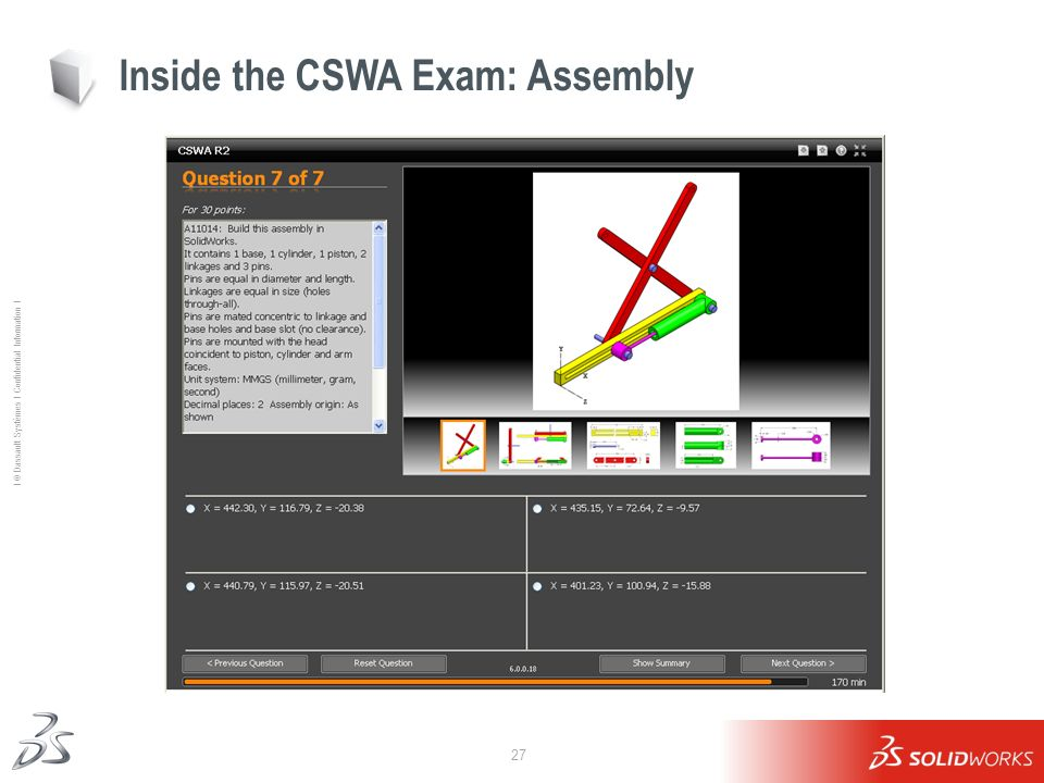 Inside the CSWA Exam: Assembly