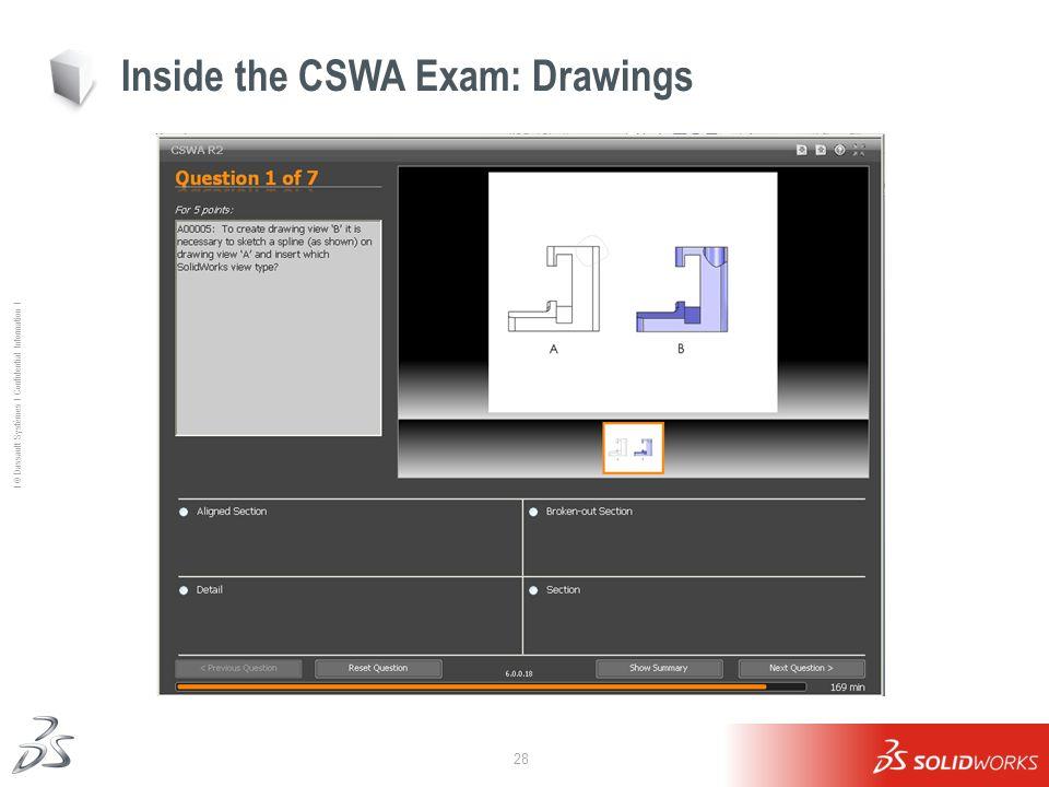 Inside the CSWA Exam: Drawings