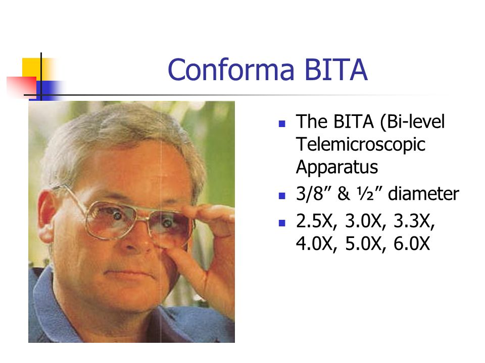 Conforma BITA The BITA (Bi-level Telemicroscopic Apparatus