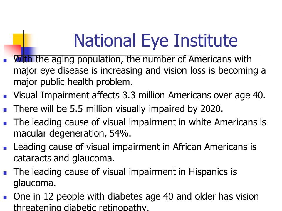causes of visual impairment pdf