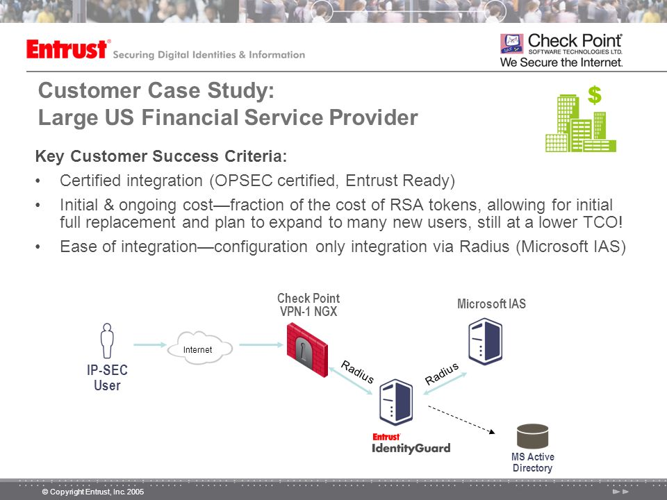 Customer Case Study: Large US Financial Service Provider
