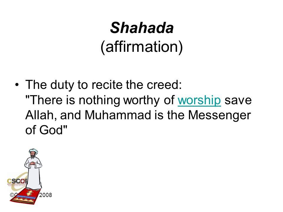 Shahada (affirmation)