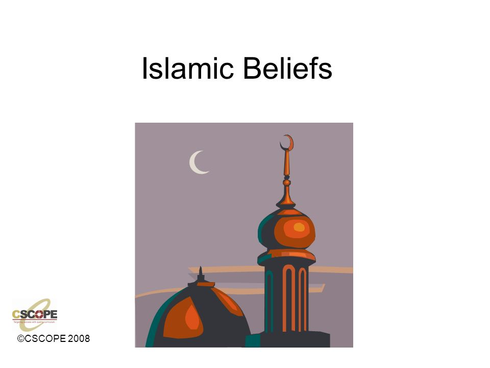 Islam ©CSCOPE ppt video online download