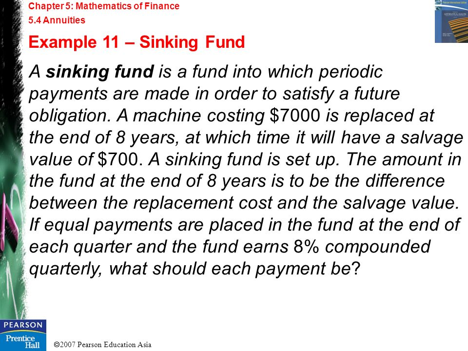 Chapter 5: Mathematics of Finance