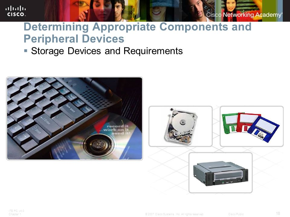 Determining Appropriate Components and Peripheral Devices