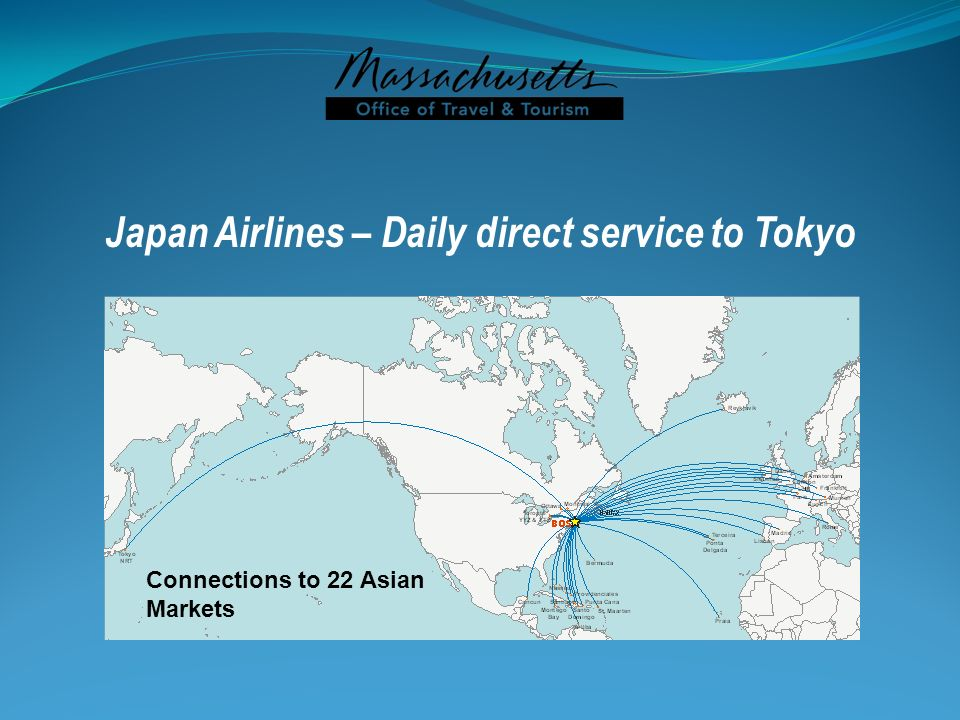 Japan Airlines – Daily direct service to Tokyo