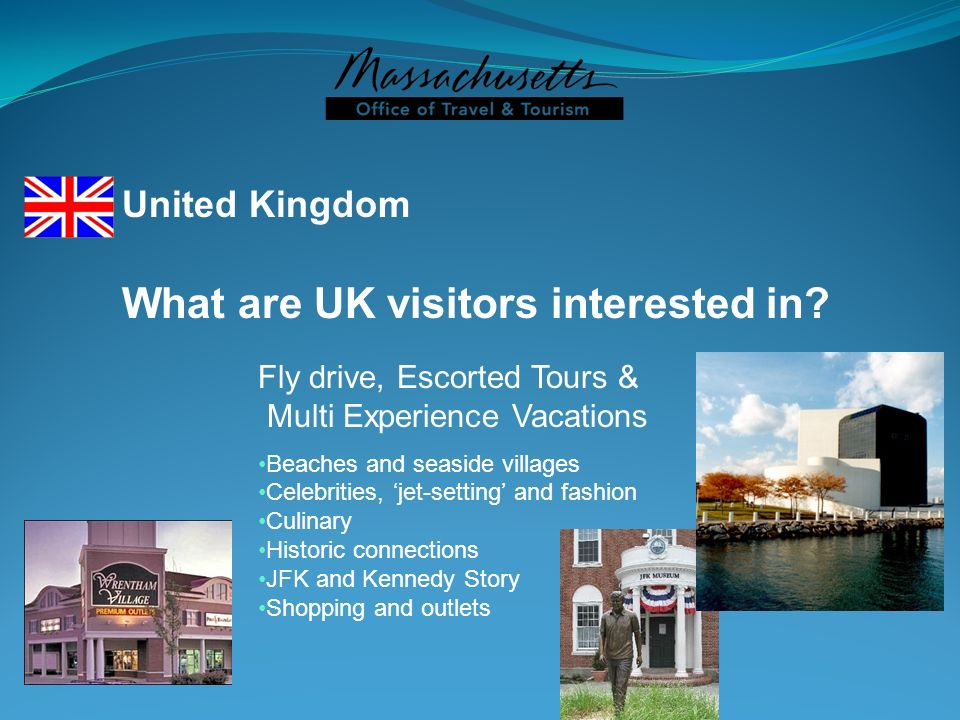 What are UK visitors interested in