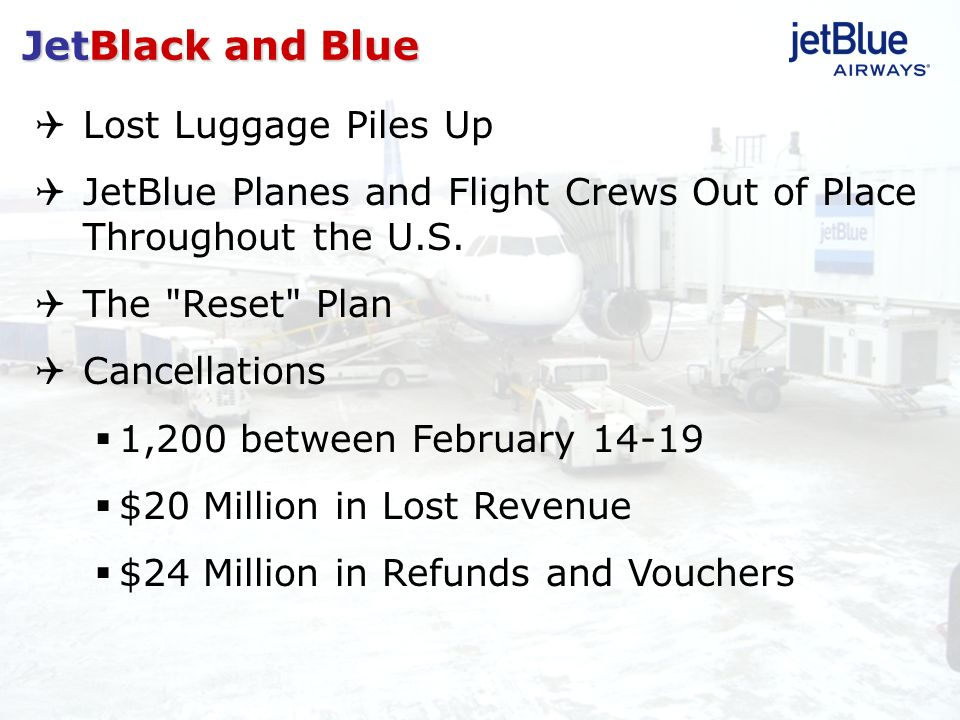 JetBlack and Blue Lost Luggage Piles Up