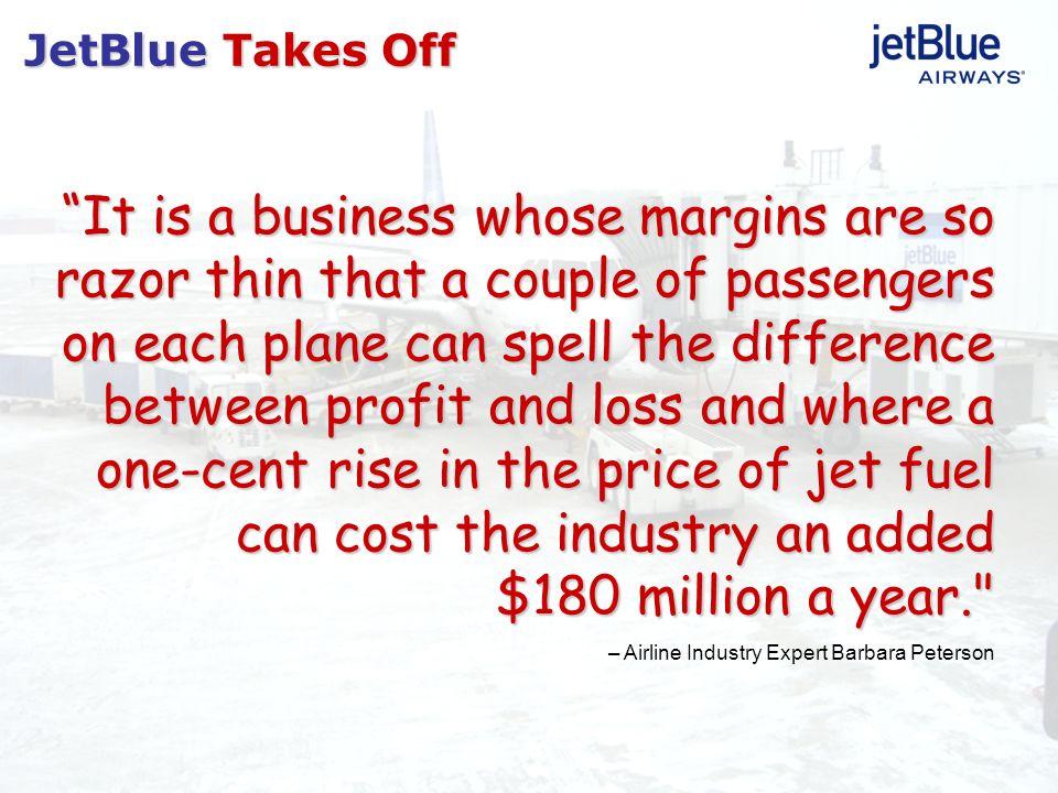 JetBlue Takes Off