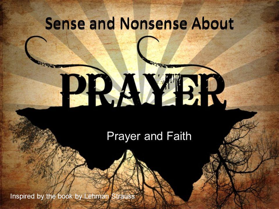 Sense and Nonsense About