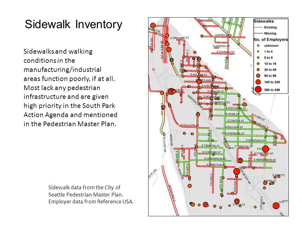 Sidewalk Inventory