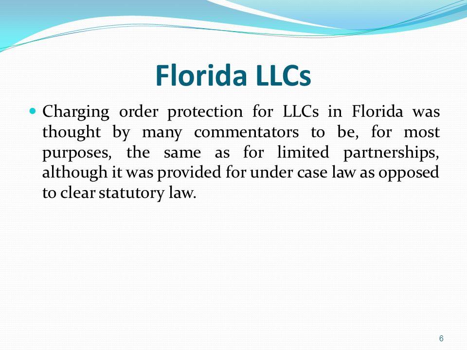 Florida LLCs