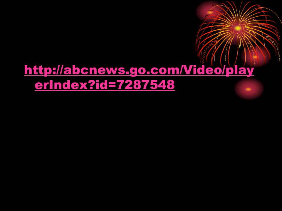 http://abcnews.go.com/Video/playerIndex id=7287548