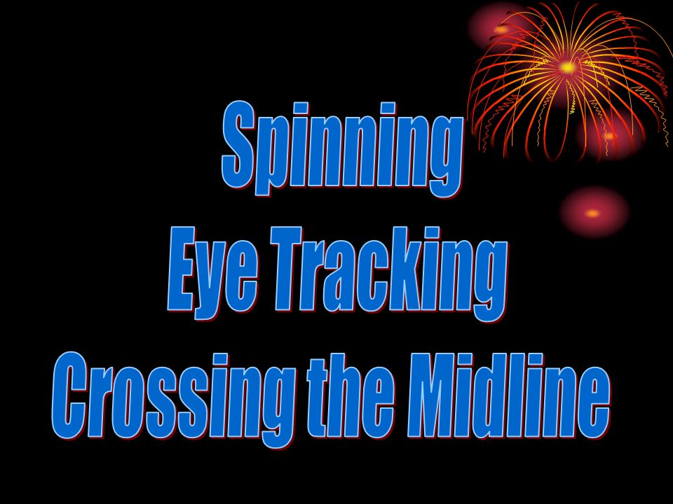 Spinning Eye Tracking Crossing the Midline