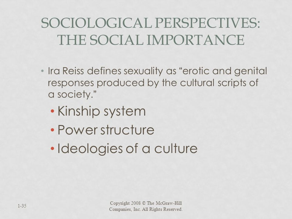 Sociological Perspectives: The Social Importance