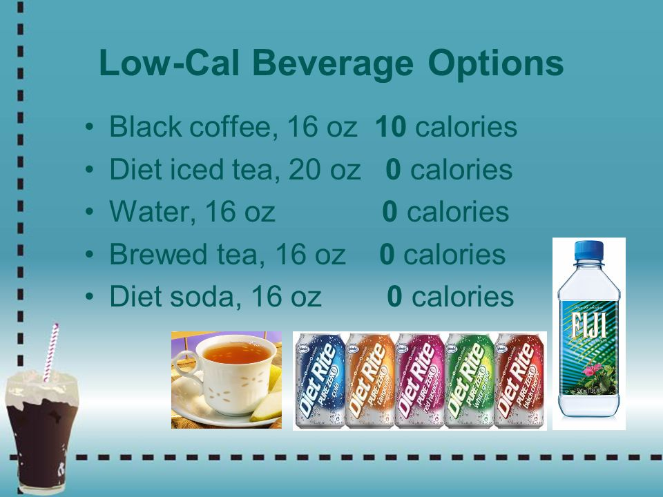 Low-Cal Beverage Options