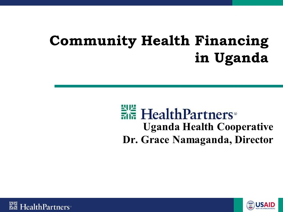 Community Health Financing in Uganda