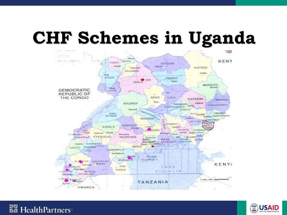 CHF Schemes in Uganda